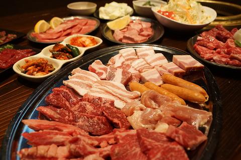 お肉屋さん直営だから安い&美味しい♪ファミリーやデート等気軽に入れる焼肉屋さん◎