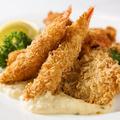 料理メニュー写真海老と帆立貝柱のフライ