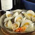 料理メニュー写真船橋産ホンビノス貝の白ワイン蒸し