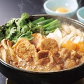 料理メニュー写真桜島どりの水炊き鍋(二名様分より承ります)