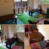 小さなお子様と一緒でも安心の個室・お座敷もあります!
