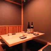 個室2部屋完備(6名様用×2)
