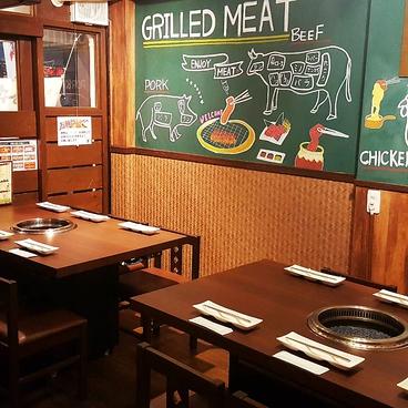 焼肉 ホルモン からし亭 新高円寺店の雰囲気1