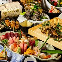 アラカルトも種類豊富にご用意★人気の創作美食を堪能♪