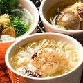 料理メニュー写真小海老の網焼きミニアヒージョ/ツブ貝の網焼きミニアヒージョ