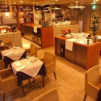 お洒落なイタリアンレストランで素敵な時間を…