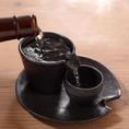 北海道の地酒も多数ご用意しております♪
