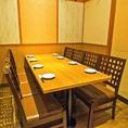 【完全個室2室目】6名様用の完全個室のお席!当店は合計2室ご用意しております!各種ご宴会に◎