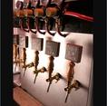 店内に特製のビールサーバーを新造!クラフトビールを味わうならビストピアへ!
