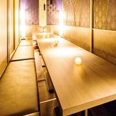 ゆったりとした空間にピッタリな当店自慢のお料理、銘酒を存分にお召し上がりください!2名様~ご利用可能な個室を多数ご用意。広々ゆったりとした個室は誕生日、記念日、飲み会にぴったり◎様々なシーンにご利用いただけるようスタッフ一同お待ちしております!