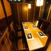 会社宴会や歓迎会、送別会などにおすすめの個室席。ゆったりとお寛ぎいただける空間となっております。さらに、事前予約でメッセージ入り特製デザートプレートをご用意いたします!詳しくはクーポンページをチェック!
