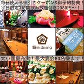 穏坐 dining オンザダイニング 新潟駅南のグルメ