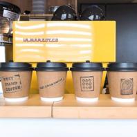コーヒーの『テイクアウト』OKです◎