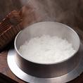 【釜炊きの特A米】お米はご注文頂いてから炊き上げます。
