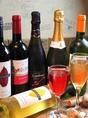 スパークリングワイン/日本酒(庭の鶯/喜多屋/繁桝)380円(税抜)★その他ボトルワイン1800円~ご用意♪