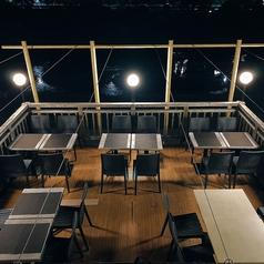 【5月~9月末まで】納涼床席となっております。2名様~20名様までご案内可能です。