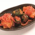 料理メニュー写真キムチ3種盛り合わせ