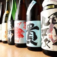 【充実の日本酒メニュー!】