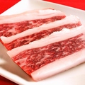 料理メニュー写真和牛ロース(タレ・赤辛)