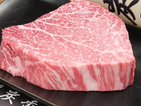 質のよい厳選和牛をご提供いたします!!