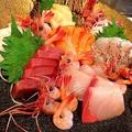 料理メニュー写真北海道産お刺身5種盛り合わせ