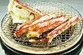 料理メニュー写真本たらば蟹の天婦羅
