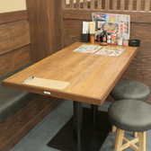 【半個室】4名様用テーブル席♪※OPEN前のためお写真イメージです。