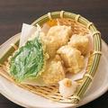 料理メニュー写真まぐろ白子の天ぷら