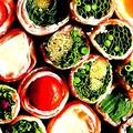 料理メニュー写真博多名物 野菜巻き串 各種