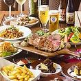 【銀座、新橋でのコース利用に】デートや記念日、接待、決起会、ご友人とのお集まりなど、オフィシャルにもプライベートにも最適♪様々なシーンに合わせたコースもございます☆ベルギービールと熟成肉をふんだんに使ったコース料理をお愉しみください☆銀座、新橋でのお食事に☆