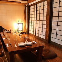 接待やお食事会にぴったりの個室