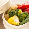 料理メニュー写真季節の野菜せいろ蒸し