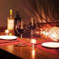 ソファー席の半個室をご用意しております。デートや女子会、誕生日のお祝いなどプライベートなご宴会をお楽しみください。