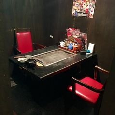 2名様のテーブル席です。
