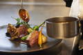 料理メニュー写真季節の食材を使用したおまかせフルコース