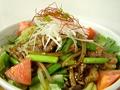 料理メニュー写真上海サラダヌードル