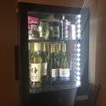 ワイン等も充実しております。