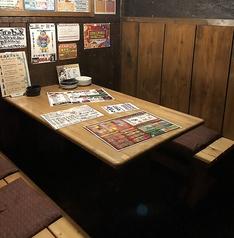 まさに、隠れ家のような個室も御座います。カップルで使うもよし!仲間、友人同士の飲み会で使うもよし!もちろんファミリーにもおススメ♪様々なシーンで使い分けできるのもブロッケンの特徴。