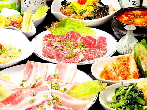 良質なお肉と新鮮野菜を、気軽に食べれる◎潮見駅徒歩2分にある本格韓国焼肉専門店。
