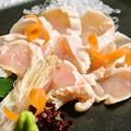 料理メニュー写真地鶏タタキ
