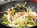 料理メニュー写真シャキシャキ水菜と大根のさっぱりサラダ