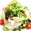 料理メニュー写真イタリア産生ハムのシーザーサラダ