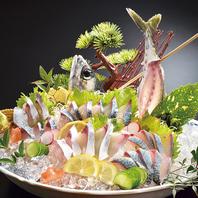 新鮮な魚を堪能…♪