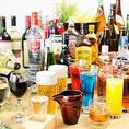 ソフトドリンクバーやディナー限定でアルコール飲み放題もご用意してます!!お気軽にお問い合わせください♪