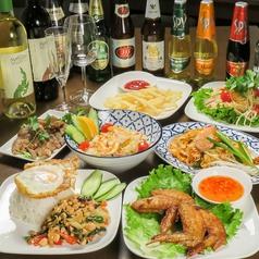Asian cafe Dorkbua アジアンカフェ ドークブア 西新井大師西の写真