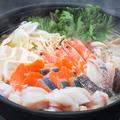 料理メニュー写真【三陸産】旬魚の旨味噌鍋