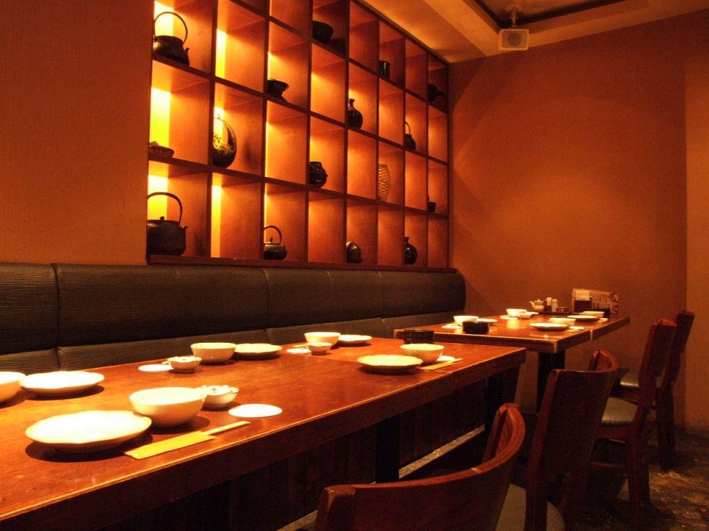 飲み会は高田屋で!落ち着く雰囲気の中での食事と会話を堪能…。