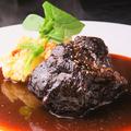 料理メニュー写真和牛すね肉の赤ワイン煮込み(S/L)