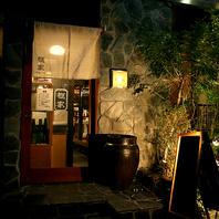 恵比寿の路地裏の隠れ家