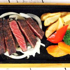 料理メニュー写真ロースステーキ 150g